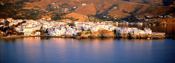 Andros Photograph - Buildings At The Waterfront, Andros by Panoramic Images