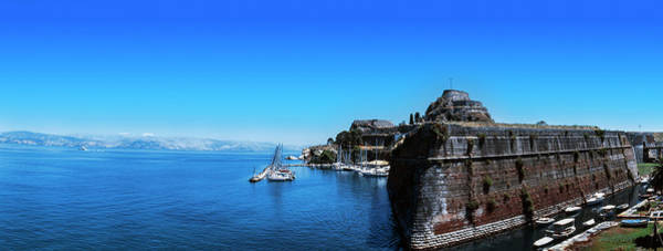 Wall Art - Photograph - Buildings At The Waterfront, Corfu by Panoramic Images