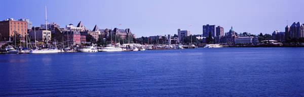 Victoria Harbor Wall Art - Photograph - Buildings At The Waterfront, Inner by Panoramic Images