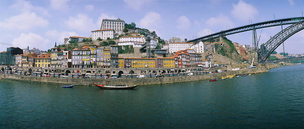 Douro Wall Art - Photograph - Buildings At The Waterfront, Oporto by Panoramic Images