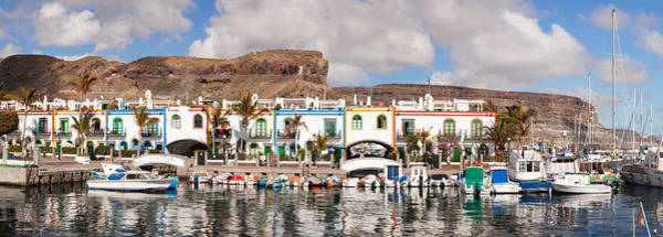Wall Art - Photograph - Buildings At The Waterfront, Puerto De by Panoramic Images