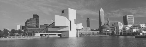 Cleveland Scene Photograph - Buildings At The Waterfront, Rock And by Panoramic Images