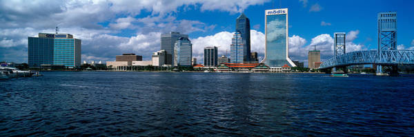 Duval County Photograph - Buildings At The Waterfront, St. Johns by Panoramic Images