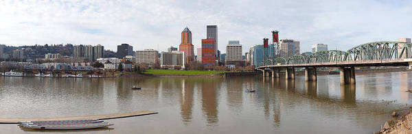 Willamette Photograph - Buildings At The Waterfront, Willamette by Panoramic Images
