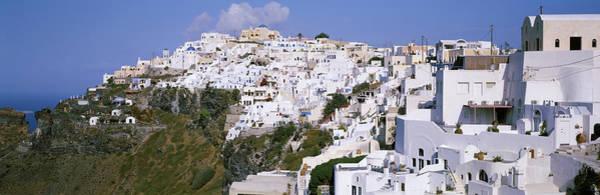 Faint Wall Art - Photograph - Buildings, Houses, Fira, Santorini by Panoramic Images