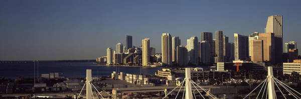 Dade Photograph - Buildings In A City, Miami, Florida, Usa by Panoramic Images