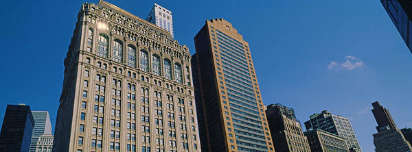Financial Centre Photograph - Buildings In A Downtown District, New by Panoramic Images