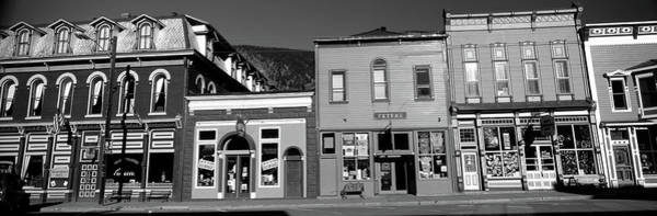 Silverton Photograph - Buildings In A Town, Old Mining Town by Panoramic Images