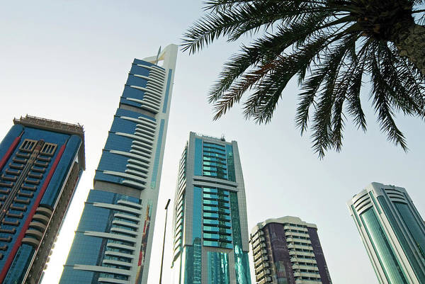Wall Art - Photograph - Buildings In E11 Or Sheikh Zayed Road by Nico Tondini