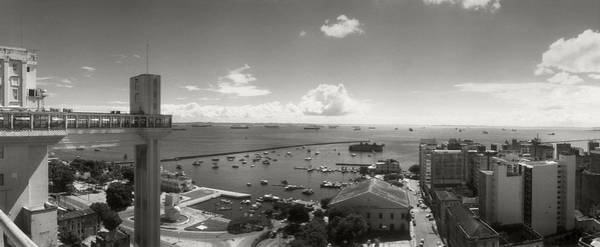 Salvador Photograph - Buildings On The Coast, Lacerda by Panoramic Images