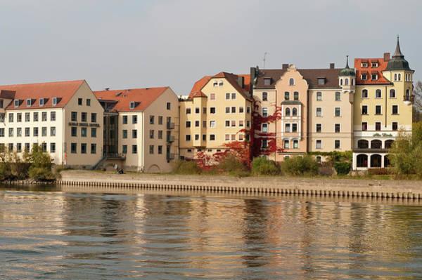 Danube Photograph - Buildings On The Danube River by Michael Defreitas