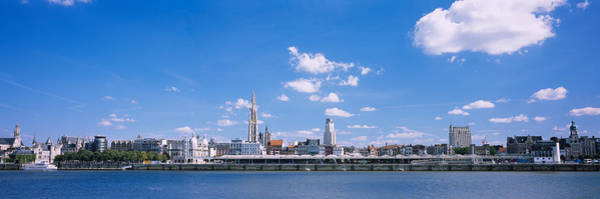 Antwerp Photograph - Buildings On The Waterfront, Antwerp by Panoramic Images