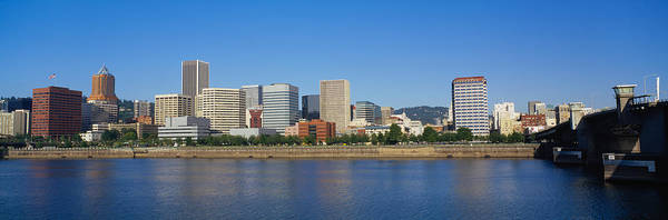 Willamette Photograph - Buildings On The Waterfront, Portland by Panoramic Images