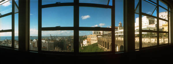 Pelourinho Photograph - Buildings Viewed Through From A Window by Panoramic Images