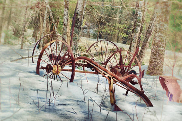 Farm Equipment Photograph - Built To Last by Susan Capuano