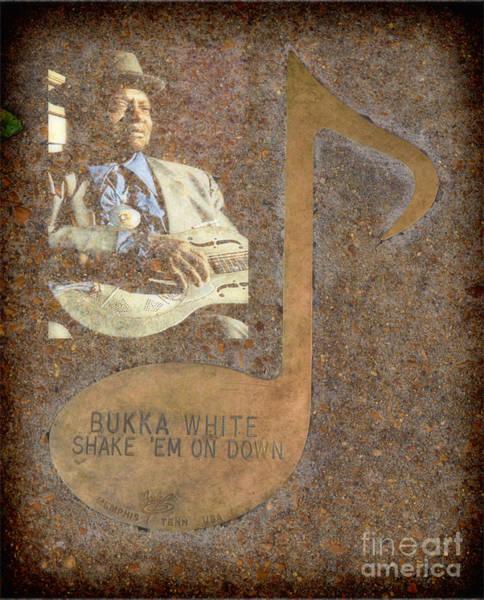 Photograph - Bukka White Note by Donna Greene