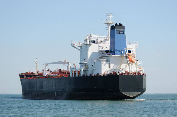 Photograph - Bulk Cargo Ship by Bradford Martin