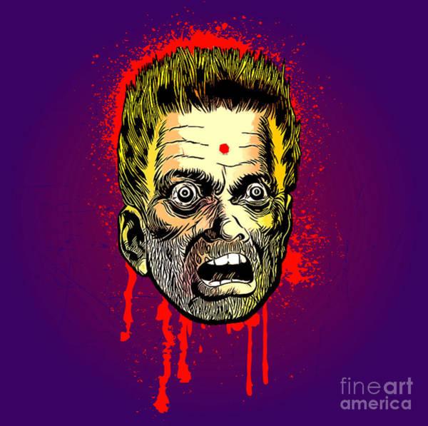Bullet Head Art Print