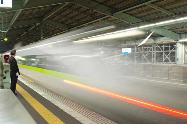 Photograph - Bullet Train by Sebastian Musial