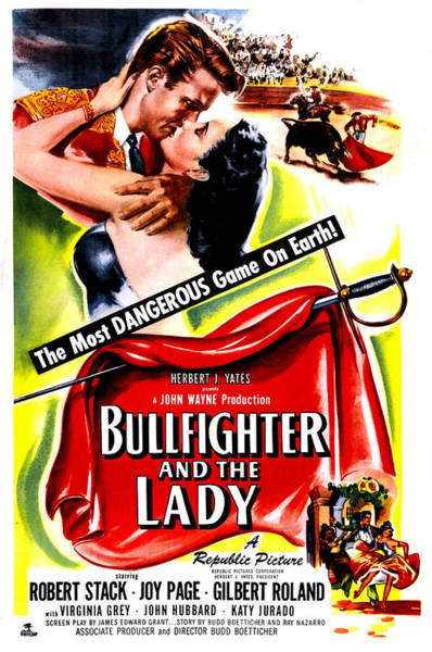 Wall Art - Photograph - Bullfighter And The Lady, Us Poster by Everett