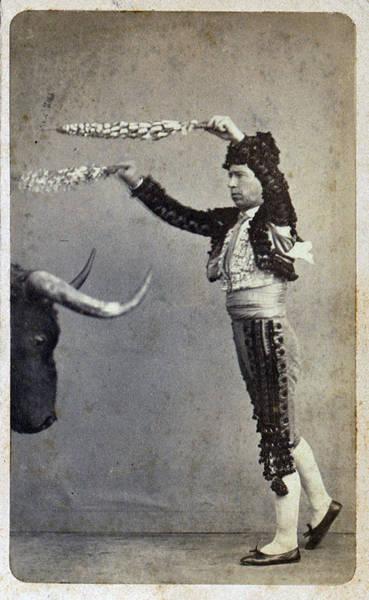 Toreador Photograph - Bullfighting. Occupational Portrait by Everett