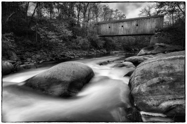 Photograph - Bulls Bridge And The Housatonic Rapids   by T-S Fine Art Landscape Photography