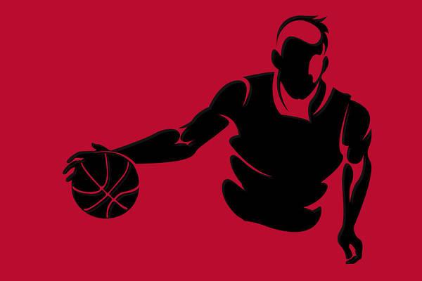 Chicago Bulls Photograph - Bulls Shadow Player1 by Joe Hamilton