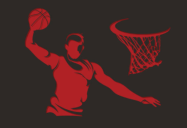 Chicago Bulls Photograph - Bulls Shadow Player2 by Joe Hamilton