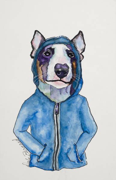 Painting - Bully For The Hoodie by Dale Bernard