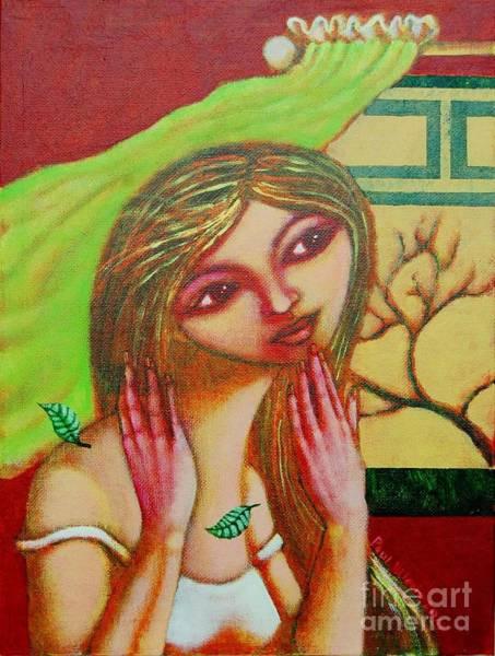 Wall Art - Painting - Bulong Ng Hangin by Paul Hilario