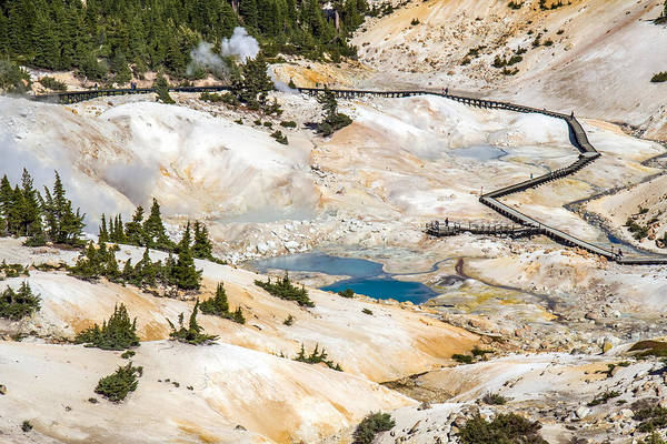 Photograph - Bumpass Hell In Lassen Volcanic National Park by Pierre Leclerc Photography