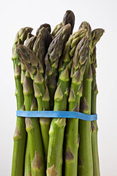 Asparagus Wall Art - Photograph - Bunch Of Asparagus  by Garry Gay