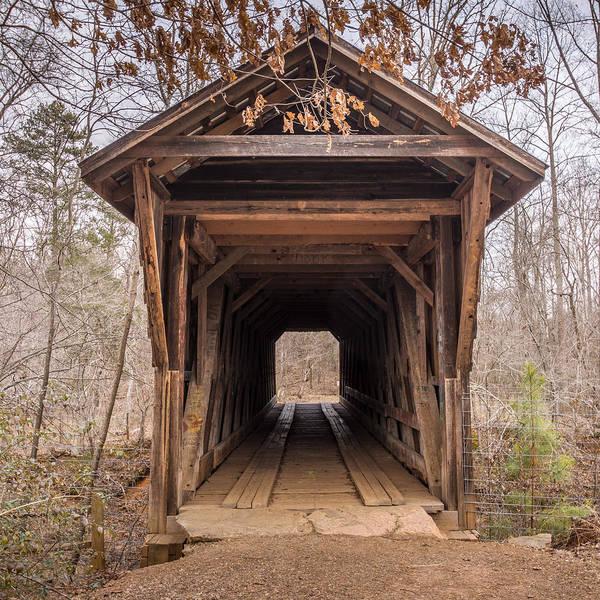 Photograph - Bunker Hill Covered Bridge 1 by Randy Scherkenbach