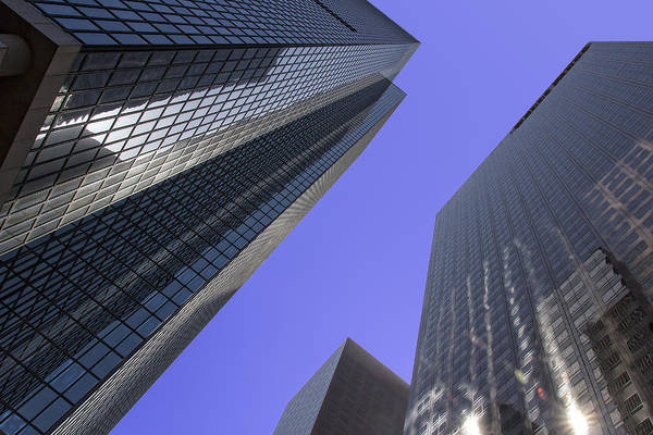 Photograph - Bunker Hill Skyscrapers by Jim Moss