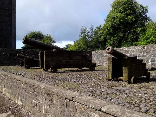 Photograph - Bunratty Cannons by Keith Stokes