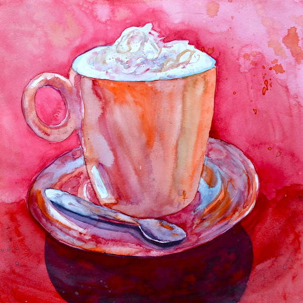 Whipped Cream Painting - Buon Appetito by Beverley Harper Tinsley