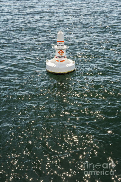 Photograph - Buoy In Harbor by Bryan Mullennix