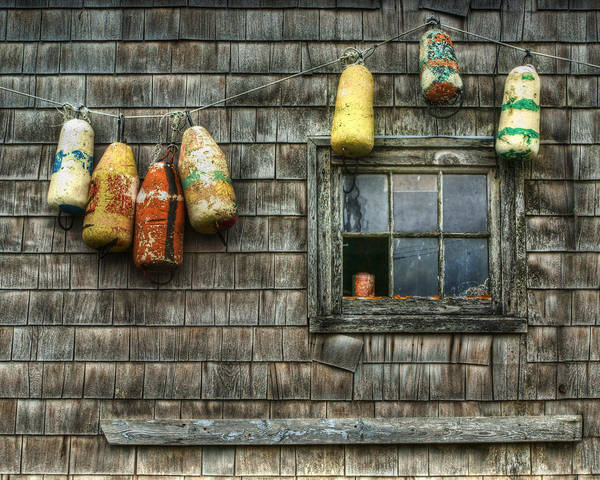 Wood Siding Wall Art - Photograph - Buoyed Up by Nikolyn McDonald