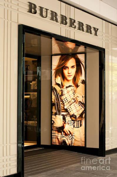 Rick Piper Photograph - Burberry Emma Watson 01 by Rick Piper Photography