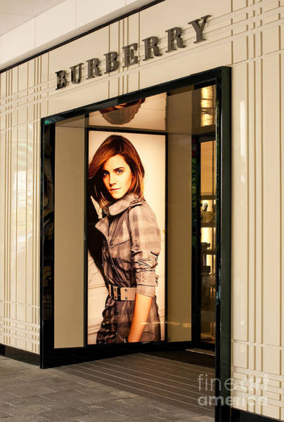 Photograph - Burberry Emma Watson 02 by Rick Piper Photography