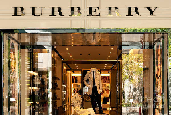 Rick Piper Photograph - Burberry by Rick Piper Photography