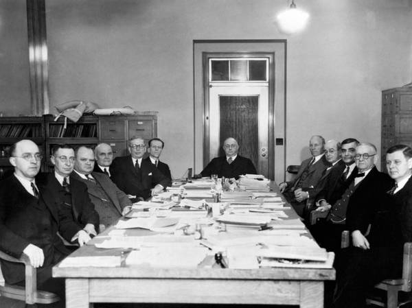 Appearance Photograph - Bureau Of Navigation Meeting by Underwood Archives