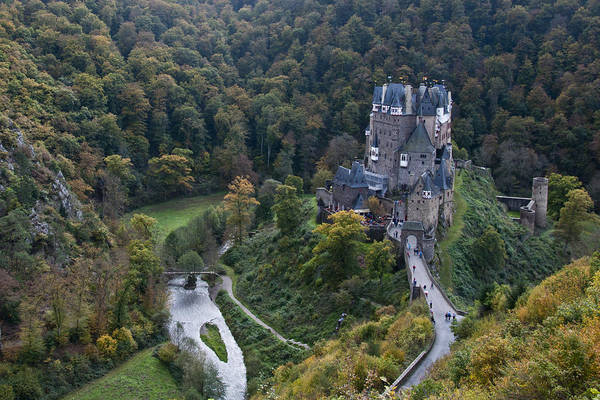 Photograph - Burg Eltz Castle by Russell Todd