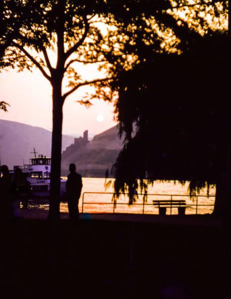 Photograph - Burg Katz At Sunset by Ross Henton