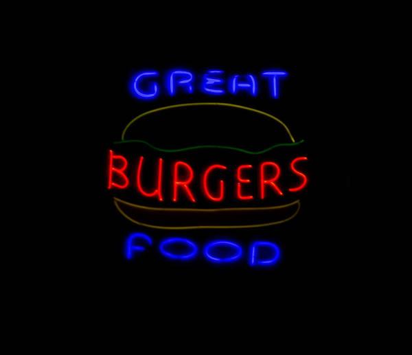 Photograph - Burgers I by E Faithe Lester