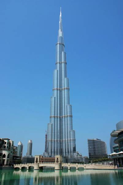 Arabs Photograph - Burj Khalifa by Mark Williamson