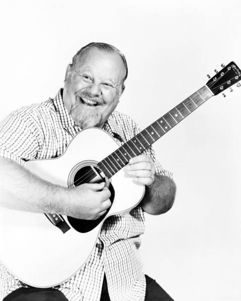 Ives Photograph - Burl Ives by Silver Screen