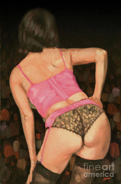 Painting - Burlesque IIi by John Silver