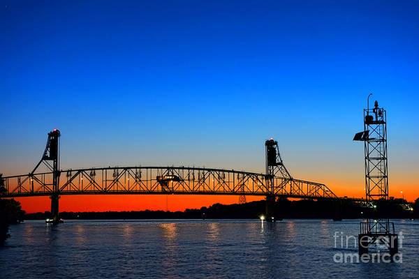 Photograph - Burlington Bristol Bridge by Olivier Le Queinec