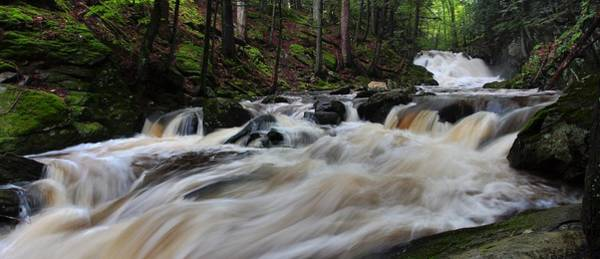 Photograph - Burlington Falls by Mike Farslow